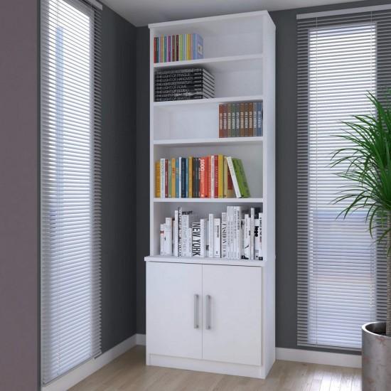 Книжных шкафа Вена 5 полок, 2 двери