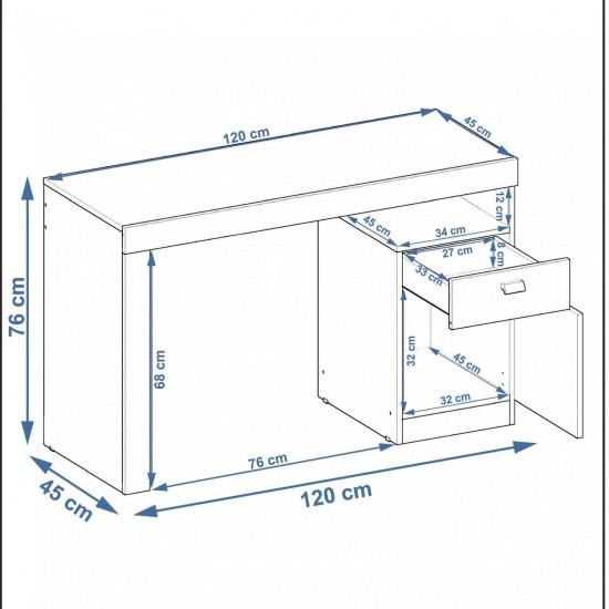 Стол Мелисса 1 дверь 1 ящик