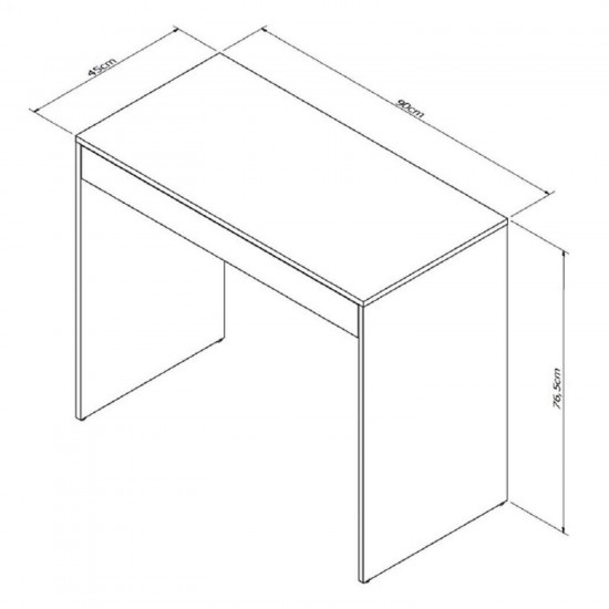 Письменный стол Бостон с 1 ящиком