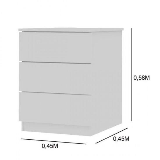 Тумба Лион 3 ящика